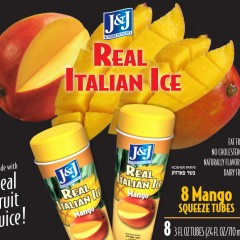 JJ Ital Ice 3oz 8ct tube-Mango